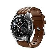 FunBand Gear S3 Frontier Cinturino, 22mm Braccialetto Morbido Sportivo di Ricambio in Silicone per Samsung Gear S3 Frontier / S3 Classic/Galaxy Watch 46mm / Moto 360 2nd Gen 46mm Smart Watch