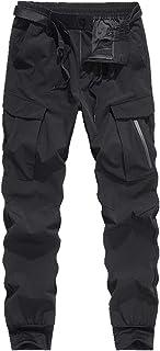 N\P Mono suelto para hombre con múltiples bolsillos