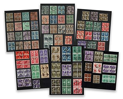 LaVecchiaScatola Regno d'Italia Collezione 72 Quartine usate