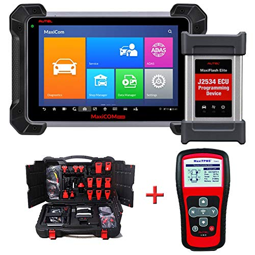 Buy Autel (Maxisys Pro) MK908P Automotive Diagnostic Scan Tool Advanced Full System Scanner with ECU...