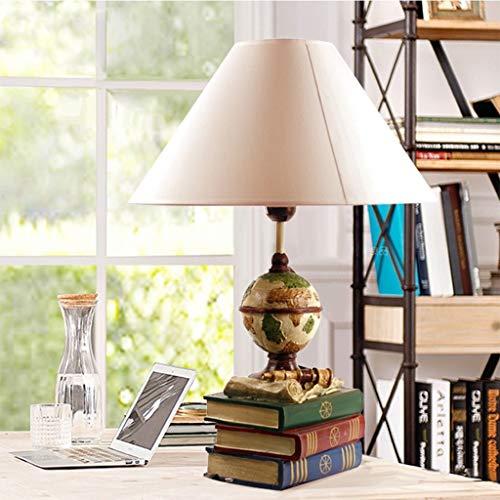 Lfixhssf Lfixhssf Slaapkamer-instrument mediterran Book tafellamp warm kinderen nachtkastje licht boekstore decoratie geschenk voor de beugels lezen E27 LED bureaulamp Lfixhssf