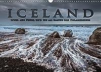 Iceland - Insel aus Feuer und Eis am Rande des Polarkreises (Wandkalender 2022 DIN A3 quer): Highlights entlang der Ringstrasse (Monatskalender, 14 Seiten )