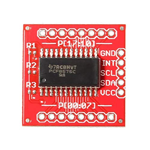 Compatibele Vervangings PCF8575 16-Bit Bidirectional IIC I2C En SMBus I/O Expander Expansion Board Accessory