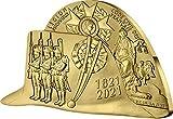Power Coin Napoleon Bonaparte Bicorn Sombrero 200 Aniversario 1 Oz Moneda Oro 200€ Euro France 2021