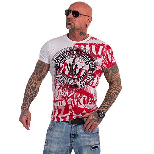 Yakuza Original Yakuza Club T-Shirt , Weiß - S