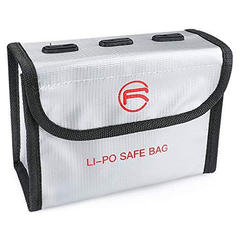 Hensych Bolsa de batería marcable a prueba de explosiones LiPo Safe Bag...