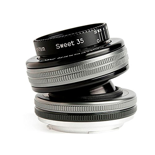 Lensbaby Composer Pro II W Sweet 35 Optic - Objetivo para Fuji (35 mm, f/2.5) Color Negro