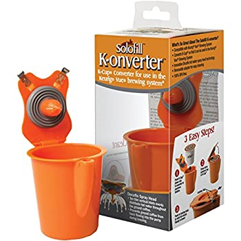 Solofill K-onverter K-Cup for Keurig Vue 10723-01-k Metal