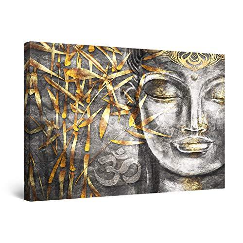 Startonight Canvas Wall Art Decor Bodhisattva Buddha Painting for Living Room 32' x 48'