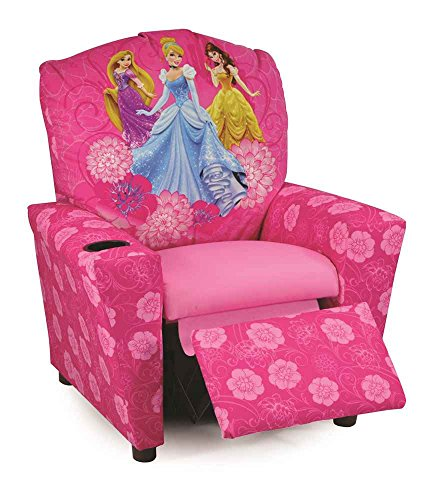 "Princesses ""Timeless Elegance"" Kid's Recliner"