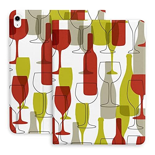 Estuche para Botella y Copa de Vino para el Nuevo Estuche para iPad Air 4, protección de Esquina de 11 Pulgadas, Folio de visualización de múltiples ángulos