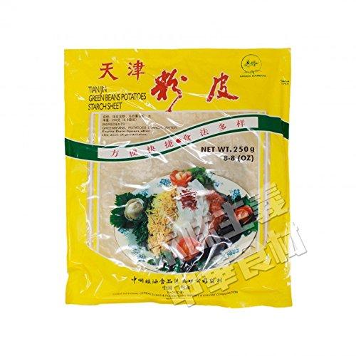 天津粉皮 (天津はるさめ)250g ハルサメ・スープ春雨・低カロリー・火鍋の具材・乾物・天津名物・中国産