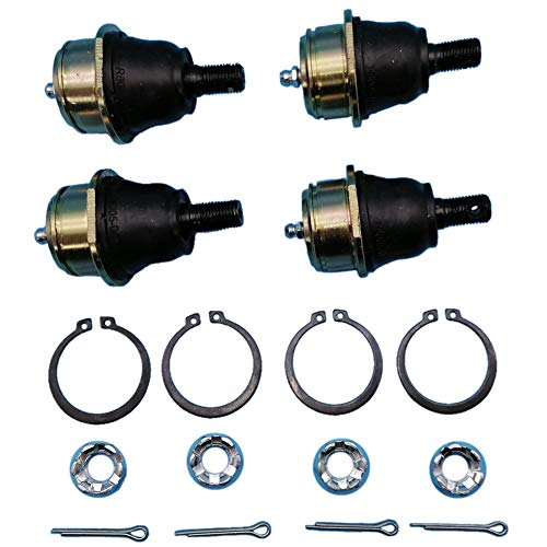 Tuzliufi Complete 4 Upper and Lower Ball Joints Set for DS650 DS 650 2000 2001 2002 2003 2004 2005 New Z588