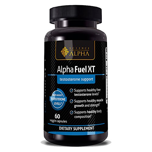 Testosterone Booster for Men - Alpha Fuel XT by Science of Alpha -...