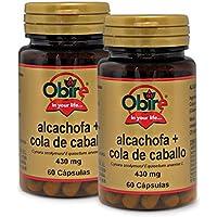 Alcachofa + Cola de caballo 430 mg. 60 capsulas (Pack 2 unid.)