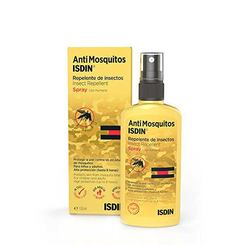 ISDIN Spray Repelente DE Insectos Anti Mosquitos - 100 ml.