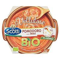 riso scotti - vellutosa pomodoro - zuppa vellutata di pomodoro con riso, senza glutine, biologica - 270 gr