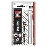 Mag-Lite SP2P10H Mini Pro - Torcia a LED 226 Lumen, ANSI Standard, colore: Argento