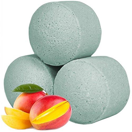 Sachet de 20 minis boules de bain - Mangue
