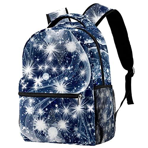 Zaino per Ragazze Flash bianco Zaino Scuola Bambini Borsa da Scuola impermeabile Backpack Design di Stampa Cartella Per Scuola Viaggio Zaino Scuola Elementare 29.4x20x40cm