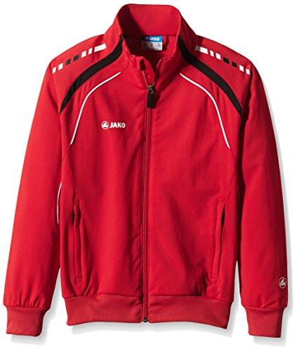 JAKO Kinder Jacke Champion Polyesterjacke, rot/schwarz, 152