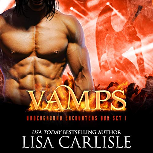 Vamps: An Underground Encounters Box Set: Shifter, Witch, and Vampire Paranormal Romances