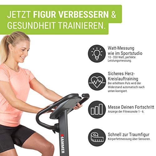 HAMMER Premium Ergometer Heimtrainer Bild 2*