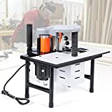 Portable Woodworking Edge Banding Machine, Double Glue Wood Banding Machine, Woodworking Tools, With Carbon Steel Blades 0.3-3mm for a Wide Range of Lengths, Widths and Thicknesses Straight and Arc