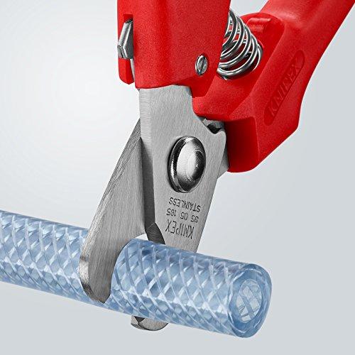 KNIPEX 95 05 165 Kabelschere mit Kunststoff umspritzt 165 mm