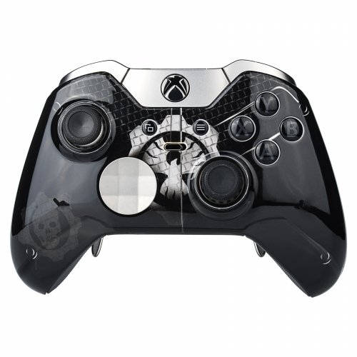 Black Night Rapid Fire Custom Modded Controller Compatible with with Xbox One Elite 40 Mods for All...