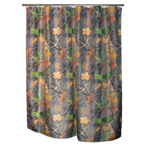 Rivers Edge Products Rideau de Douche Motif Camouflage