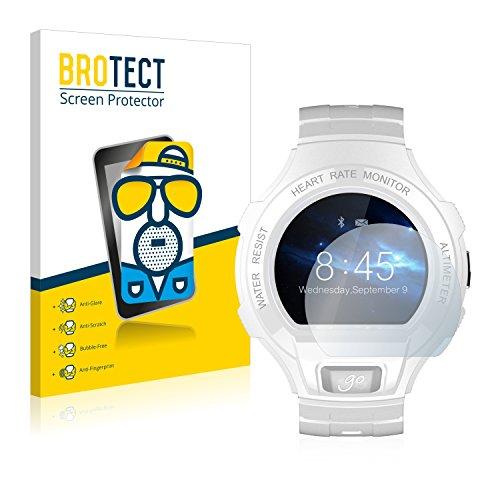 BROTECT 2X Entspiegelungs-Schutzfolie kompatibel mit Alcatel Go Watch Bildschirmschutz-Folie Matt, Anti-Reflex, Anti-Fingerprint