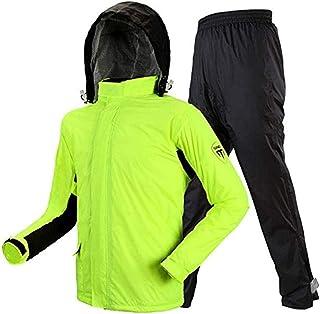 PPCP Raincoat (Raincoat and Rain Pant Set) Raincoat Split Adult Raincoat Rain Pants Thickened Windproof Waterproof Raincoa...