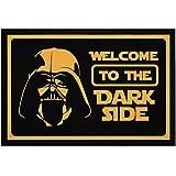 MoonWorks Felpudo con texto 'Welcome to the Dark Side película...