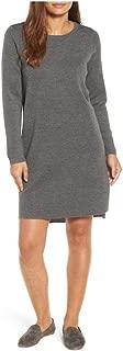 Ash Merino Interlock Round Neck Dress