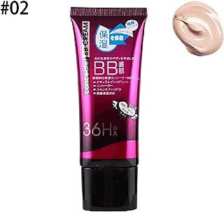 Beito 1 UNID Natural BB Cream Ligero Base Hidratante BB Cream Con Spf Protección Solar Brillo para la Piel y Crema Antienvejecimiento Para Todo Tipo de Piel(02Natural)