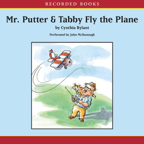 Mr. Putter and Tabby Fly the Plane audiobook cover art