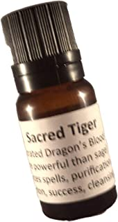 Sacred Tiger Dragon's Blood 100% Concentrated Liquid Incense 10ml (1/3 Oz.)