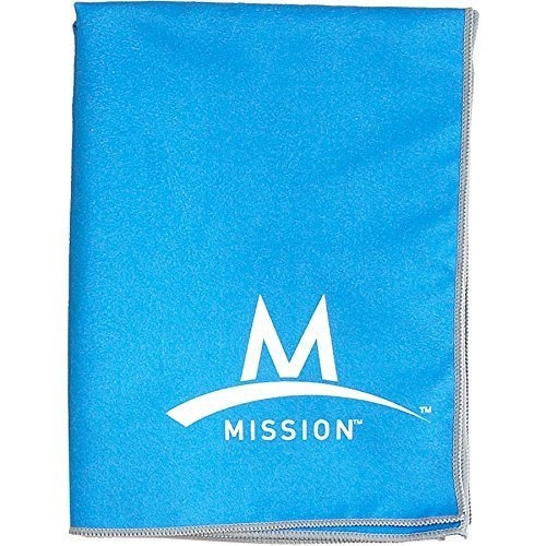 MISSION Enduracool Instant Cooling Towel, Blue