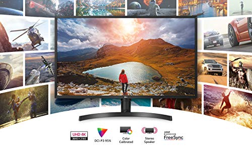 LG 32UK550-B 80,01 cm (31,5 Zoll) Monitor (UHD 4K, AMD Radeon FreeSync, DAS Mode, Reader Mode) schwarz - 5