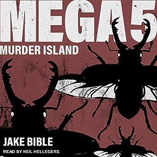 Mega 5: Murder Island audiobook cover art