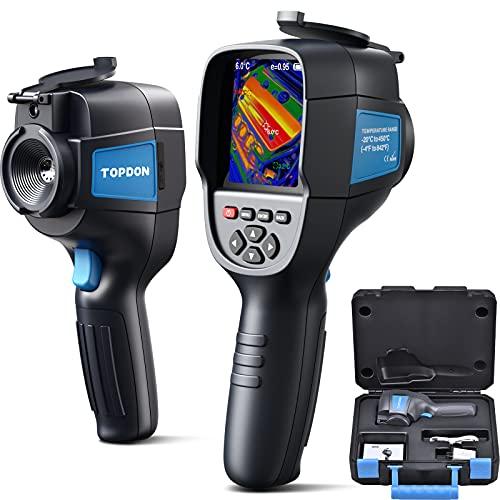 TOPDON ITC629 Cámara térmica por infrarrojos portátil rango de temperatura: -20 °C a 450 °C sensibilidad 0,07 °C resolución 220 x 160 pantalla a color de 3,2 pulgadas batería incluida
