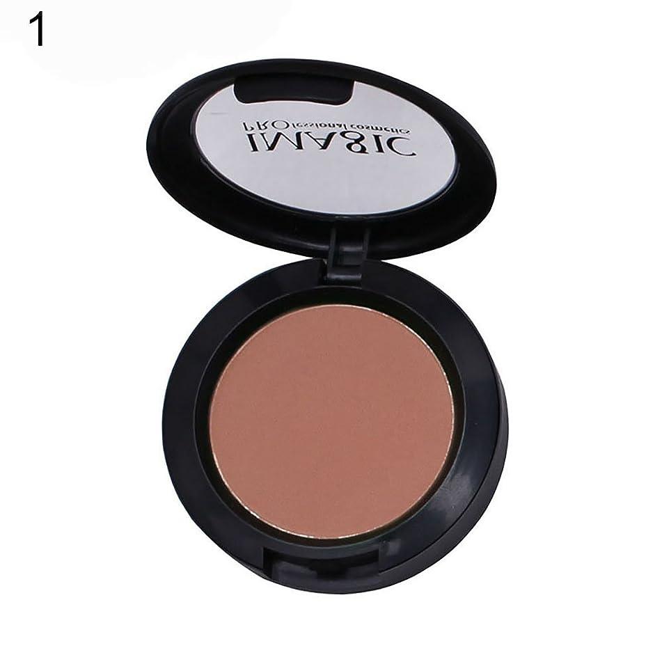 Blush Powder gLoaSublim Fashion Women Cheek Blusher Blush Powder Palette Makeup Cosmetic Tool Gift - 1#