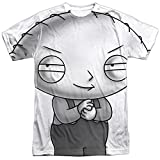 Family Guy Comedy TVShow Stewie Plotting Adult Front Print T-Shirt XXXL