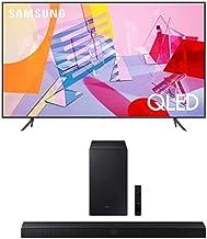 SAMSUNG 55-inch Class QLED Q60T Series - 4K UHD Dual LED Quantum HDR Smart TV (Alexa Built-in) with T450 Soundbar