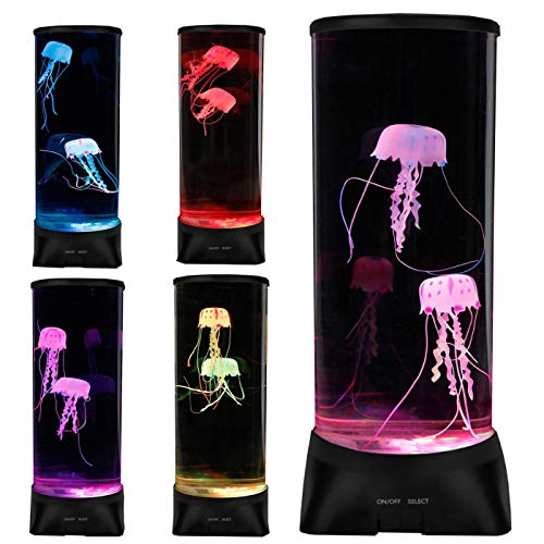 Jellyfish Lamp,Large Electric Jellyfish Aquarium,Jellyfish Tank Mood Light  with 7 Alternating Colors,Perfect as Kid's Night Lamps or Decorative Lamps  for Couples or Households.- Buy Online in Guernsey at  guernsey.desertcart.com. ProductId : 134513830.