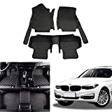 OREALTECH Fußmatte Auto für BMW 3 Series F30 F80 F34 F31 2018 2019 2020 Allwetter XPE Leder Autoteppich 3D All-Inclusive-Stil Automatte vorn und hinten