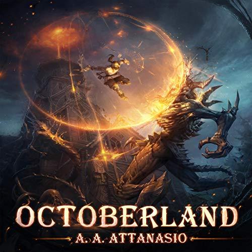 Octoberland audiobook cover art