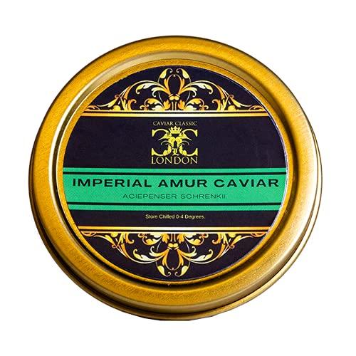 125 gr Imperial Amur Caviar. Free Xpress 1-2 Day del as Standard.