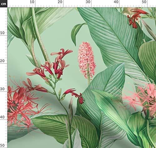 18. Jahrhundert, Redouté, Wasserfarben, Jumbo Stoffe - Individuell Bedruckt von Spoonflower - Design von Kadyson Gedruckt auf Leichter Baumwoll Twill